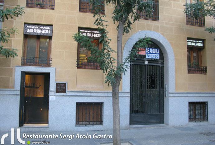 Restaurante sergi arola gastro madrid ril cr ticas - Restaurante sergi arola en madrid ...